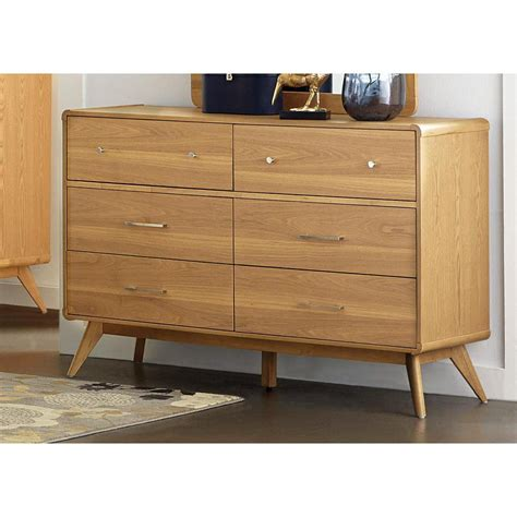 cheap light wood dresser