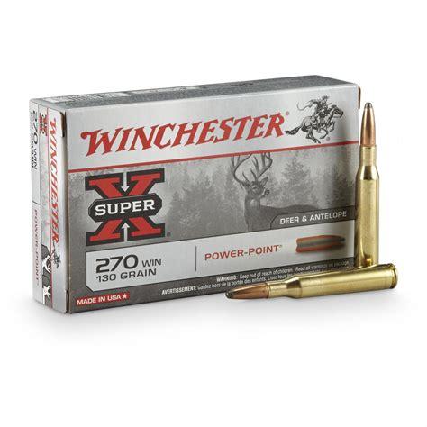 Cheap 270 Rifle Ammo