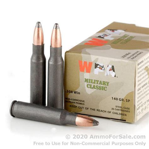 Cheap 308 Brass Soft Point Ammo