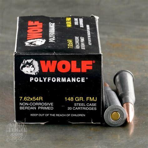 Cheap 7 62x54r Ammo Bulk Wol