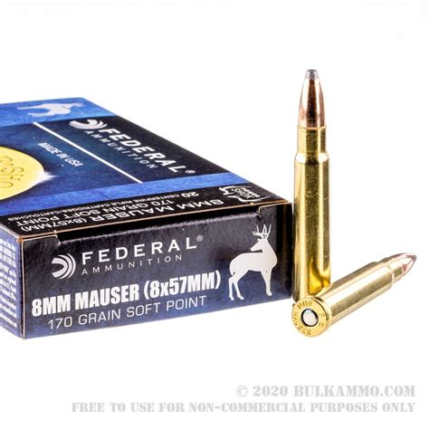 Cheap 8mm Mauser Bulk Ammo