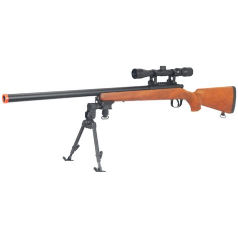 Rifle-Scopes Cheap Airsoft Sniper Rifles With Scope And Bipod Uk.