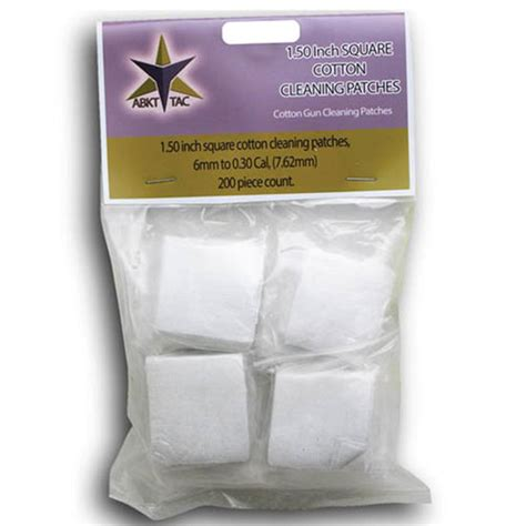 Cheap Cleaning Patches 1-1 8 In Square - 500 Or 1000 Ct