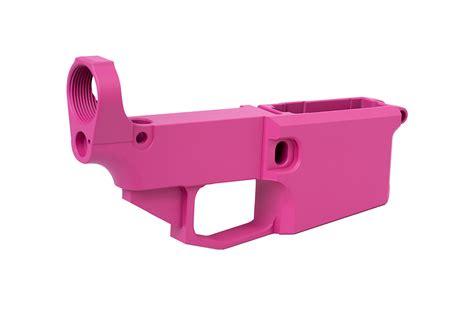 Cheap Pink Cerakoted Billet Ar-15 Lower Receiver