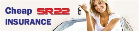 Cheap Sr22 Insurance