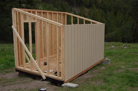 Cheap way to build a shed Image