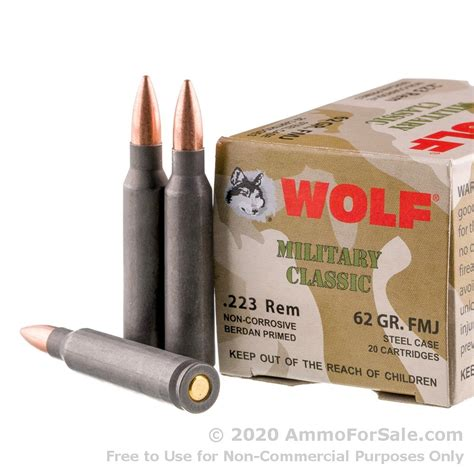 Cheapest Wolf 223 Ammo