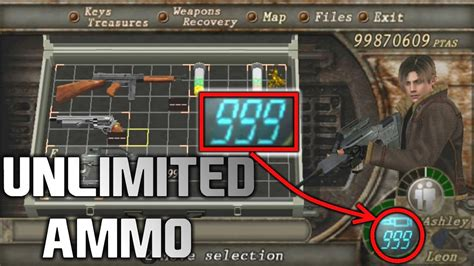 Cheat Code Resident Evil 4 Ps2 Unlimited Ammo