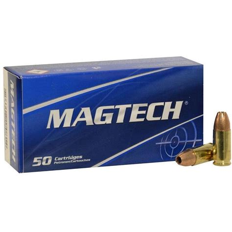 Check Price Sport Hunting Ammo 9mm Luger 115gr Jhp Magtech