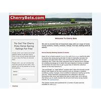 Cherry bets profitable horse racing betting systems guide