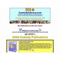 Child custody information & help for every custody topic! compare