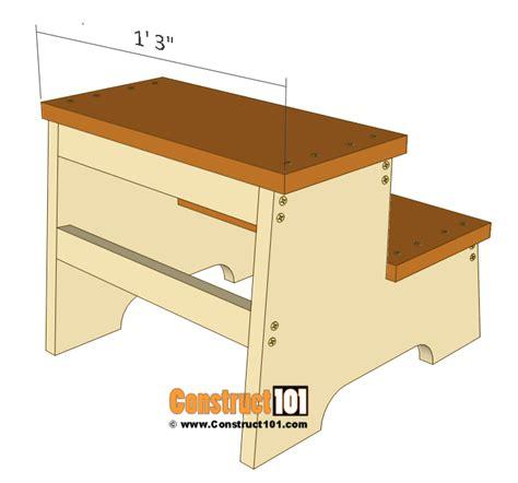 Child step stool plans free Image