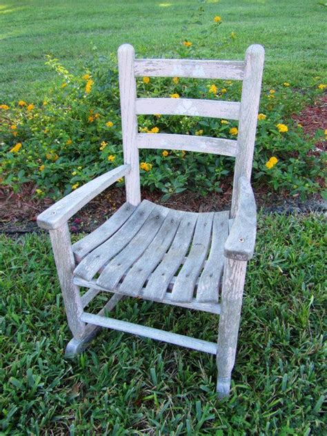 Childrens wooden rocking chairs Image