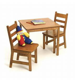 Childs Wooden Table And Chairs Plans