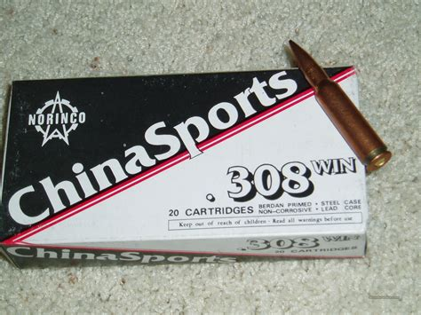 China Sports 308 Ammo For Sale