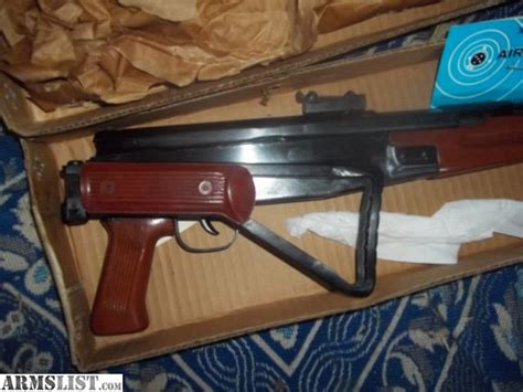 Chinese Air Rifle Folding Stock