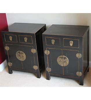 Chinese Bedside Cabinet Uk