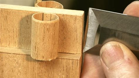 chisel tricks for hand cut joinery Image