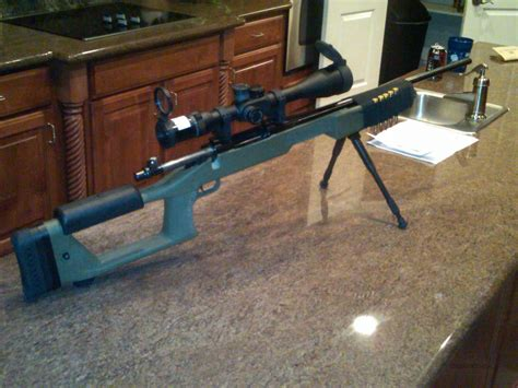 Choate Sniper Stock Remington 700