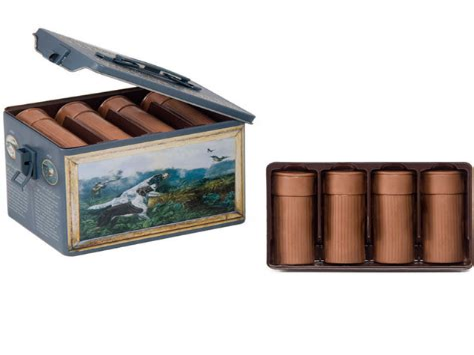 Chocolate Shotgun Cartridges