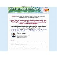 Cholesterol never again 90%! top converting written page on cb scam