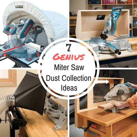 Chop saw dust collection Image
