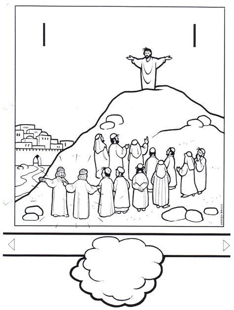 Christi Himmelfahrt Malvorlage