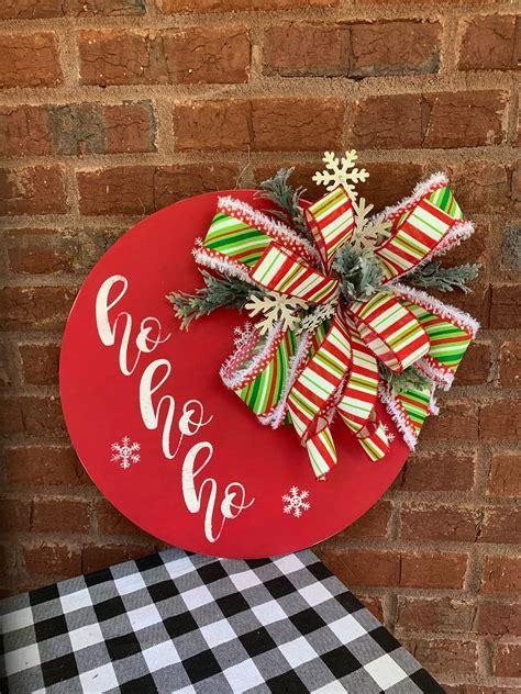 Christmas Wooden Door Hangers