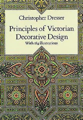 Christopher dresser principles of decorative design Image