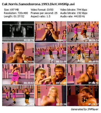 Chuck Norris Self Defense