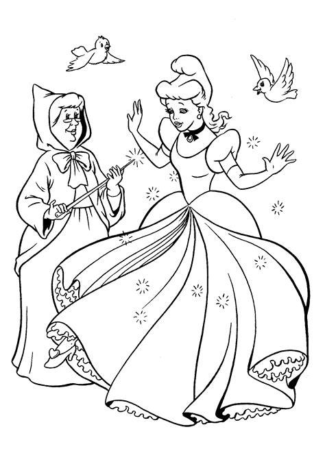 Cinderella Malvorlage