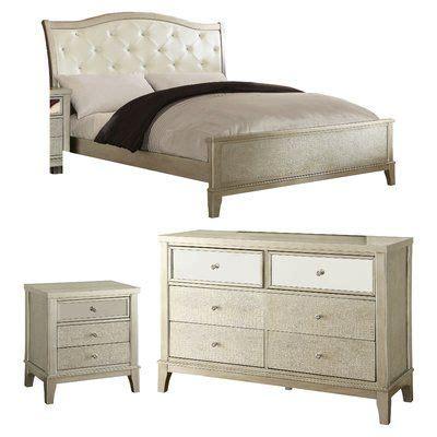 Clairmont Panel Configurable Bedroom Set