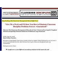 What is the best classroom discipline 101 ebook?