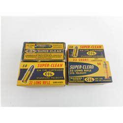 Clean 22 Short Rifle Ammunition