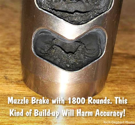 Clean Carbon From Muzzle Brake