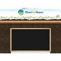 Clean food source: the ultimate blueprint for aquaponics promo