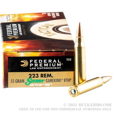 Cleanest Burning 223 Ammo