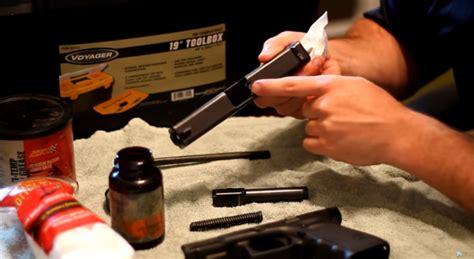 Cleaning A 9mm Handgun