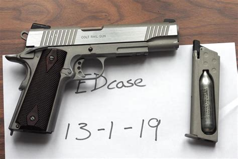 Cleaning Colt 1911 Rail Gun And Cleaning Walther Colt 1911 22