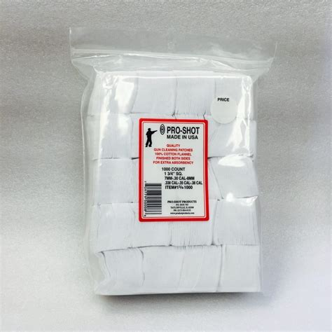 Cleaning Patches 1-3 4 In Square - 500 Or 1000 Ct