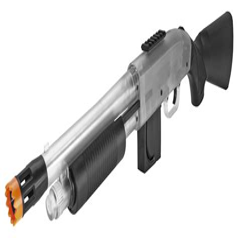 Clear Airsoft Shotgun And Dslr Shotgun