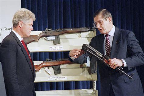 Clinton Assault Rifle Ban Ak 47 And D2 Only Assault Rifle Frames Buyable
