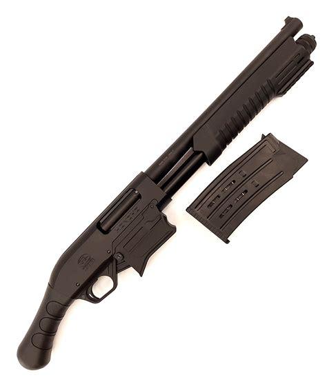 Clip Fed Pump Shotgun