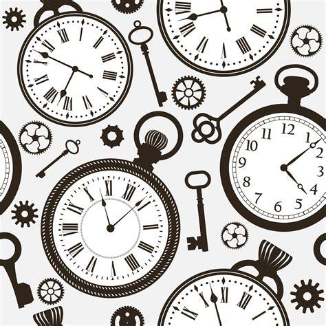 Clock pattern Image