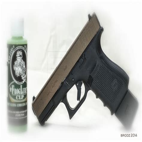 Clp Or Lithium Grease Rails Glock 19