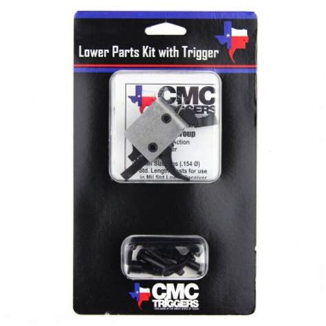 Cmc Triggers Complete Lower Receiver Parts Kit For Ar15