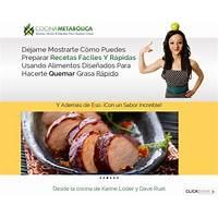 Cocina metabolica libro de recetas quema grasa #1 en cb secret
