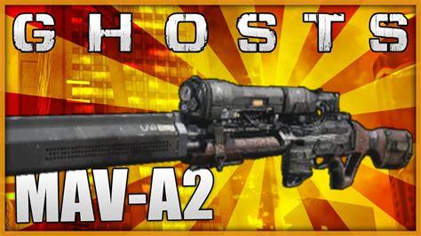 Cod Ghost Maverick Sniper Rifle