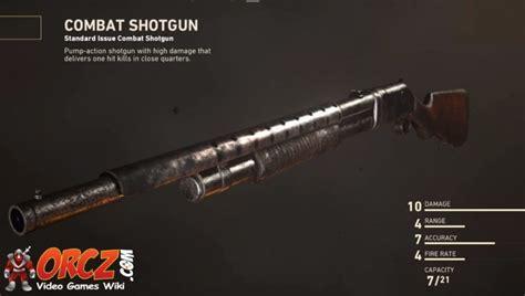 Cod Ww2 Combat Shotgun