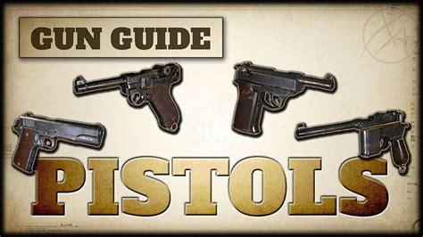 Cod Ww2 Pistol Grips List